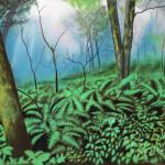 Lumiere de forêt - 50x65